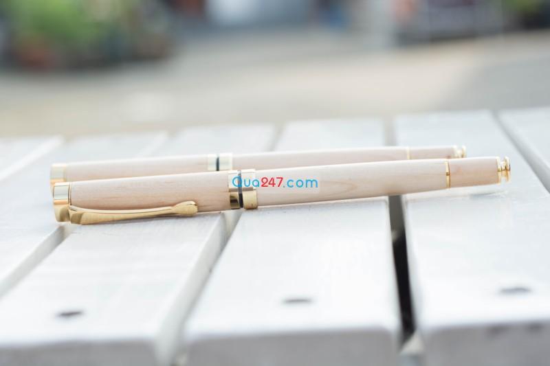 But-Go-05-31 Bút gỗ 05 - bút gỗ nắp bật mực nước