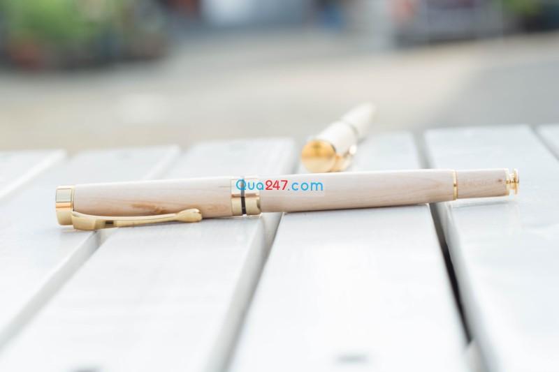 But-Go-05-41 Bút gỗ 05 - bút gỗ nắp bật mực nước