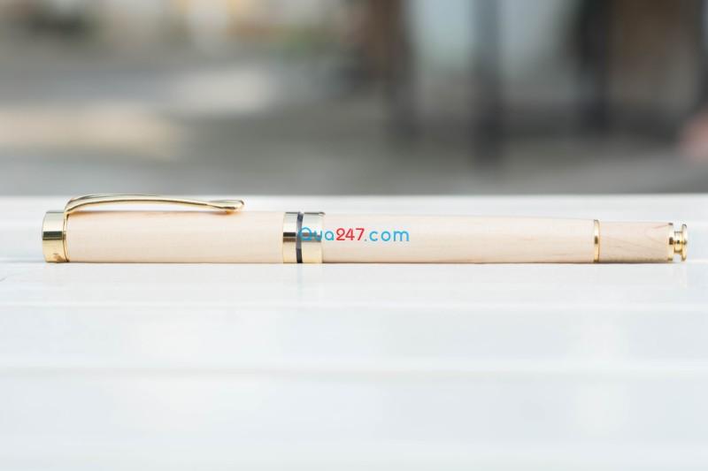 But-Go-05-6 Bút gỗ 05 - bút gỗ nắp bật mực nước