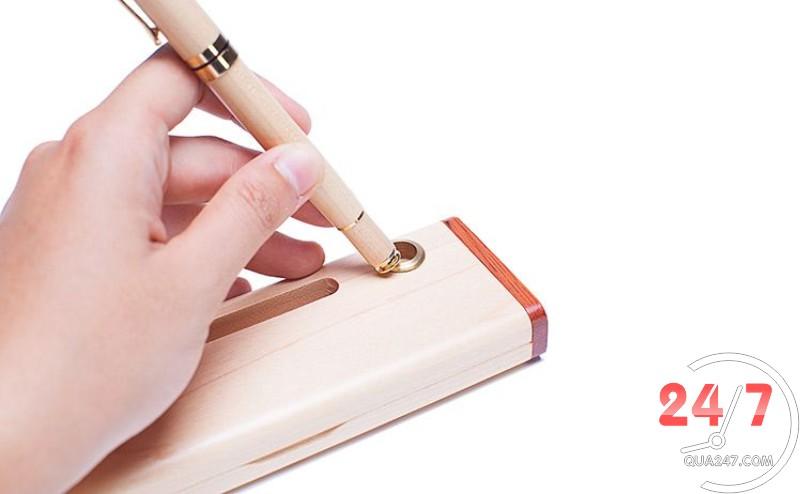 Hop-buy-go-09-2 Hộp bút gỗ 09 - hộp gỗ không ghép