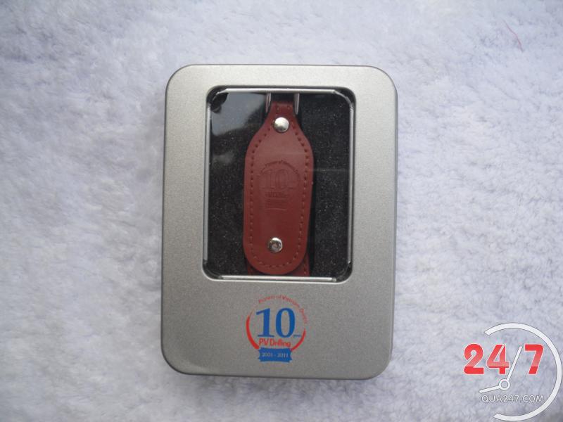 USB-22a USB 22 - usb vỏ da quảng cáo
