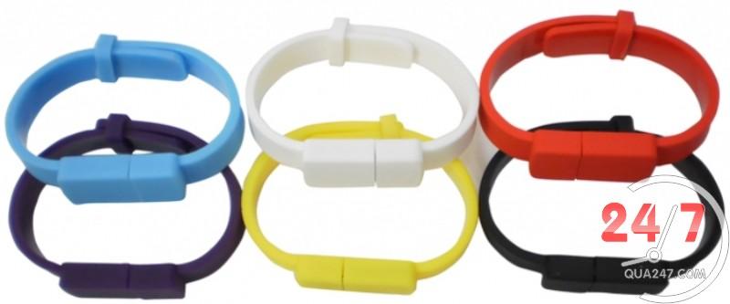 USB-4 USB 04 - usb vòng đeo tay silicon