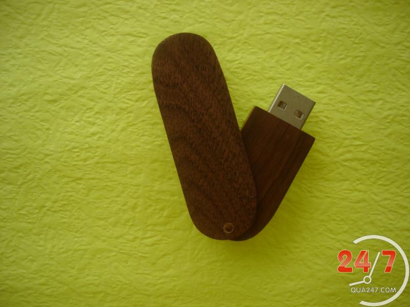 USB-Go-03a USB 03 - quà tặng usb gỗ nắp xoay