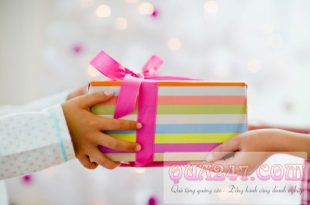 Quà tặng và cách tặng quà