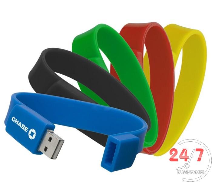 t USB 04 - usb vòng đeo tay silicon