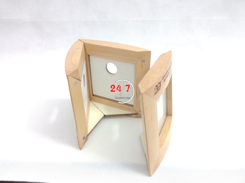 Ong-but-go-06-9 Ống bút gỗ khung hình 06