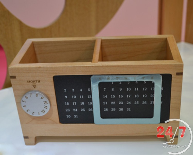 Ong-but-go-07-1 Ống bút gỗ 07