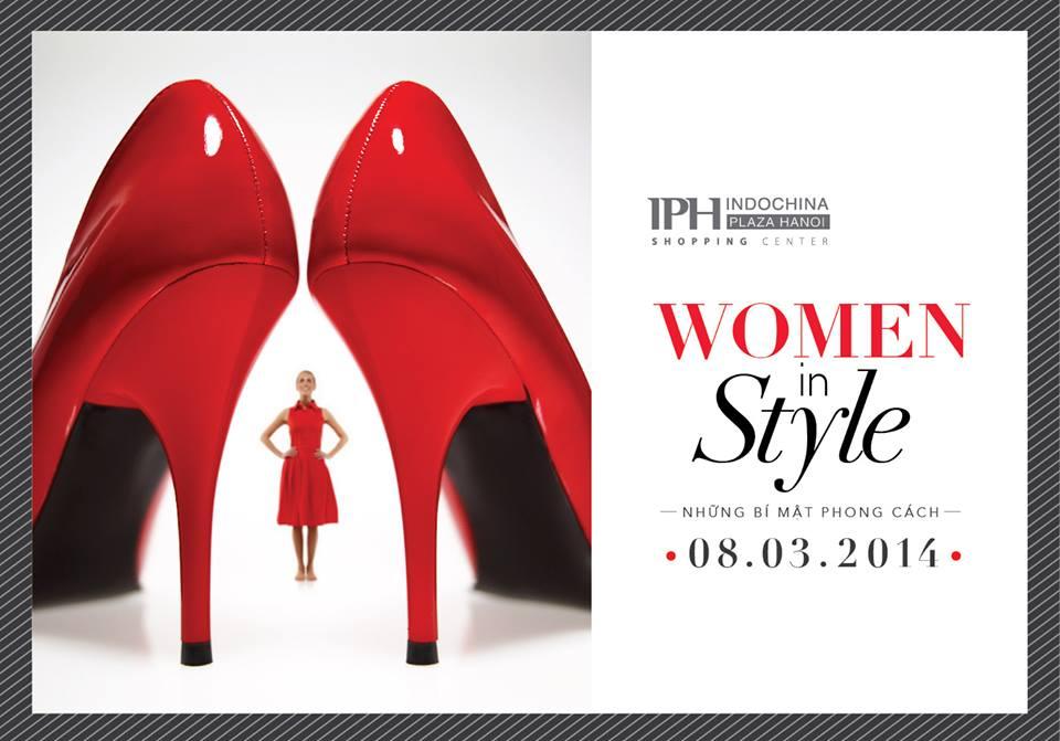 su-kien-ngay8-3 Chương trình ngày 8/3 tại Indochina Plaza Hanoi women in style- những bí mật phong cách