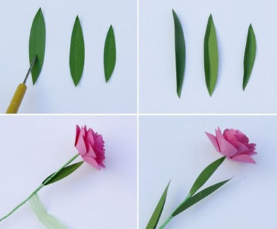 cach-lam-hoa-hong-giay-don-gian-3 Hướng dẫn làm quà tặng bông hồng bằng giấy
