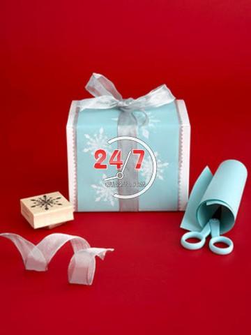 cach_goi_qua_giang_sinh Cách làm hộp quà tặng handmade đẹp