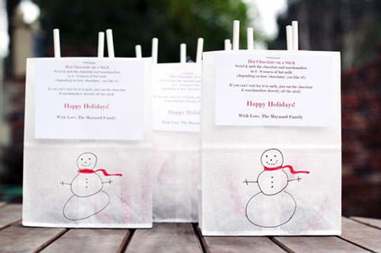 lam-qua-tang-giang-sinh-2 Làm quà tặng Giáng sinh bằng socola que