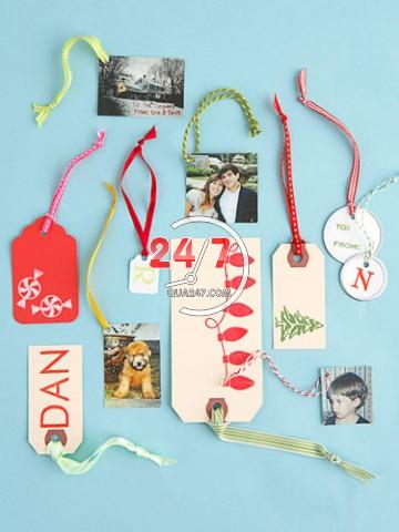 tu-trang-tri-goi-qua-noel-4 Cách làm hộp quà tặng handmade đẹp