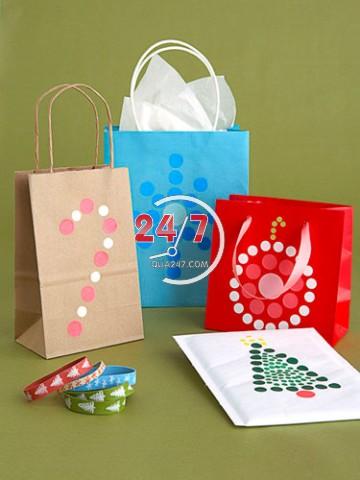 tu-trang-tri-goi-qua-noel-5 Cách làm hộp quà tặng handmade đẹp
