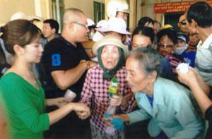 247 Quà tặng dành cho người mù tỉnh khánh hòa