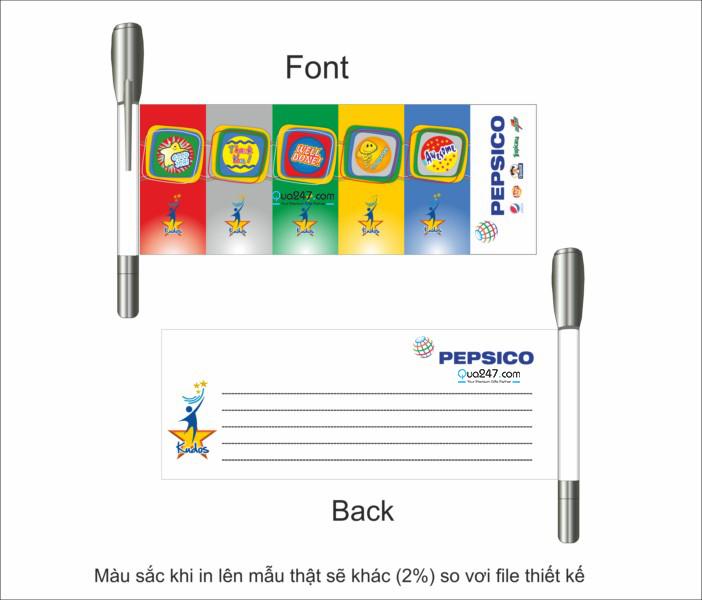 but_banner_pepsico Bút banner là gì? Sản xuất bút banner như thế nào?
