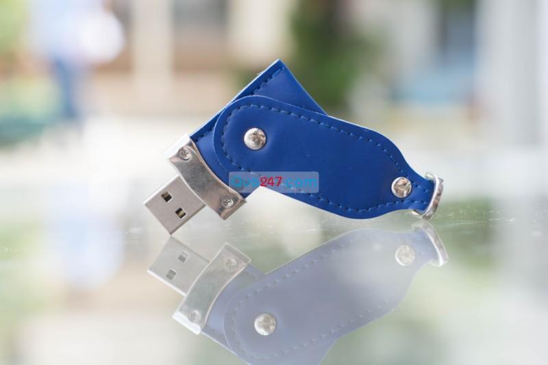 USB-22-10 USB 22 - usb vỏ da quảng cáo