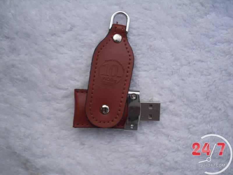 USB-22-11 USB 22 - usb vỏ da quảng cáo