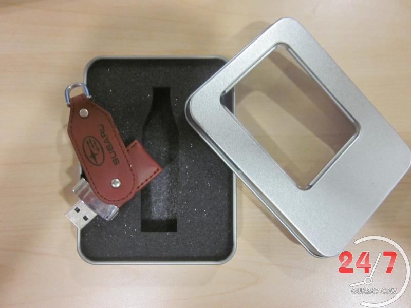 USB-22-14 USB 22 - usb vỏ da quảng cáo