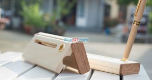 Hộp bút gỗ 09 – hộp gỗ không ghép
