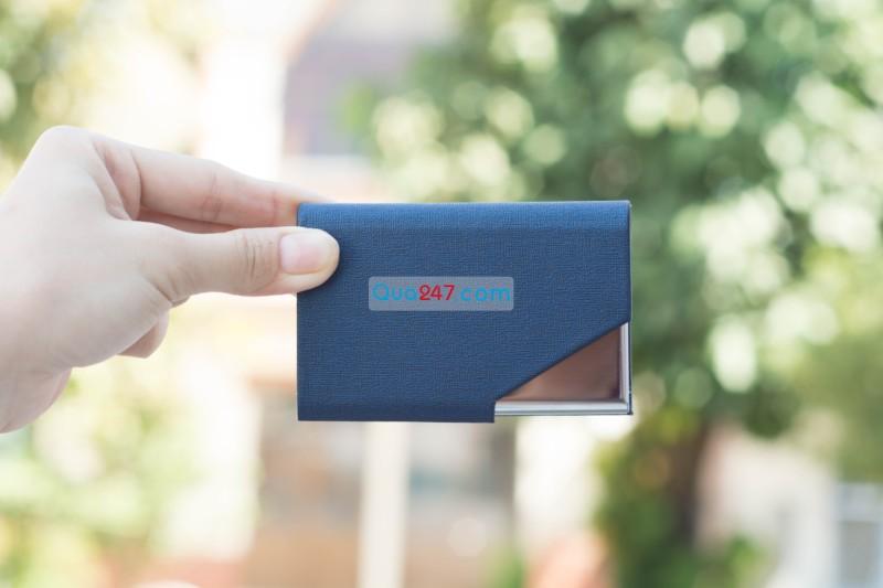 Namecard-07-27 Hộp Namecard da 07