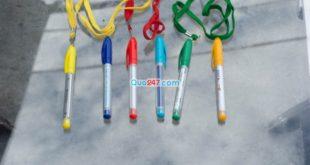 Bút banner 24 – Bút nắp rút có dây đeo